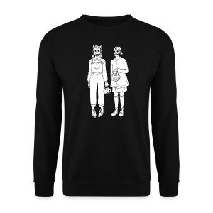 Trick or Treat - Negative space - Herre sweater
