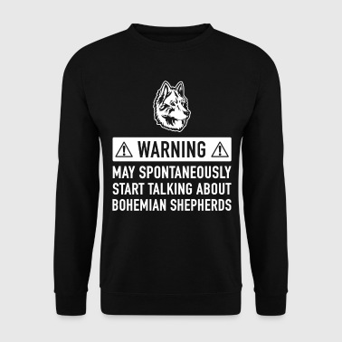 Funny Bohemian Shepherd Gift Idea - Men's Sweatshirt