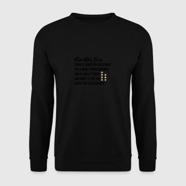 Elevator Fun - Men's Sweatshirt