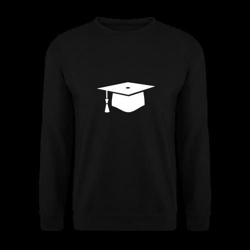 einfacher Doktorhut - Geschenk zur Doktorarbeit - Männer Pullover