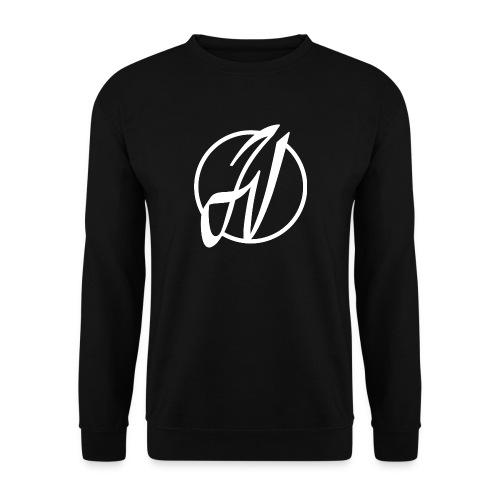 JV Guitars - logo blanc - Sweat-shirt Homme