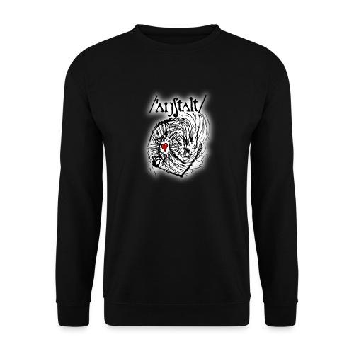 wesen mit herz und logo - Männer Pullover