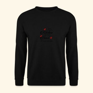 The Kitchen is the Heart of the home - Männer Pullover