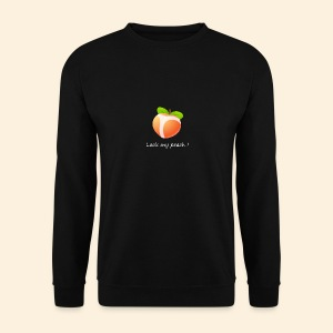 Look my peach in white - Men's Sweatshirt
