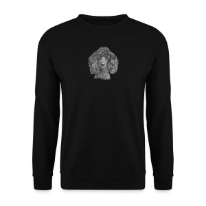 poodle-black-P - Herre sweater