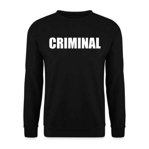 CRIMINAL - Sweat-shirt Homme