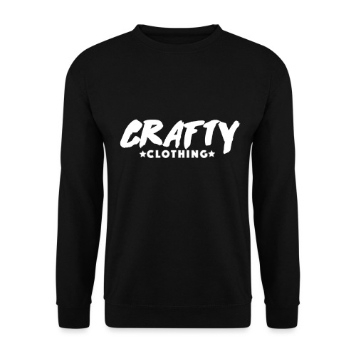 WHITE CRAFTY LOGO - Men's Sweatshirt