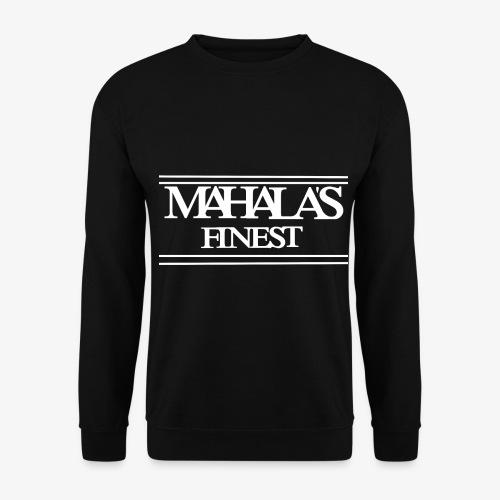 MAHLAS FINEST LOGO 2020 white - Unisex Sweatshirt