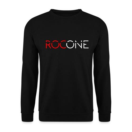 rocone logo weiss - Unisex Pullover