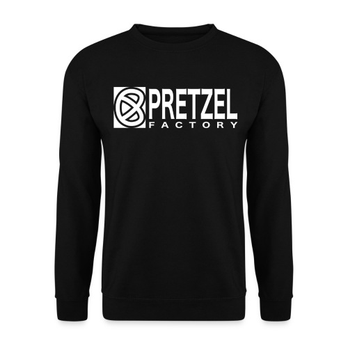 Pretzel Factory Logo Blanc - Sweat-shirt Unisex