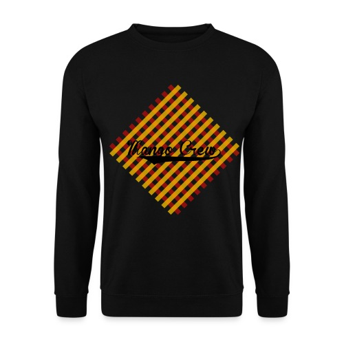 Sweater Design Karo - Männer Pullover