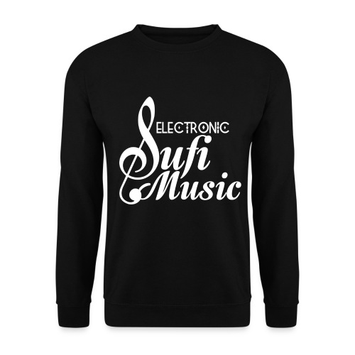 electronicsufi 4000 white png - Men's Sweatshirt