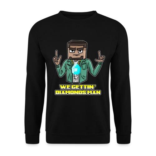 wegettindiamondsman - Men's Sweatshirt