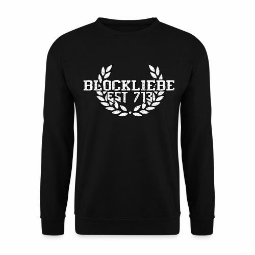 Blockliebe Logo Emblem - Männer Pullover