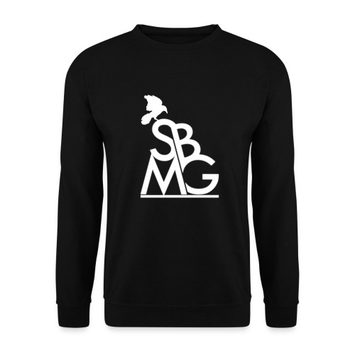 121212SBMGLOGO wit png - Unisex sweater