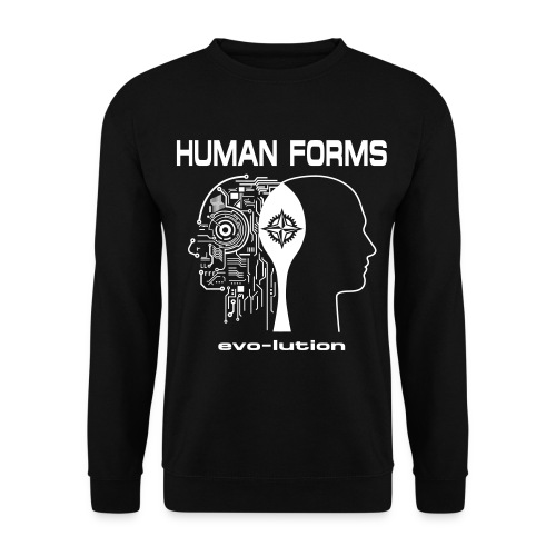 Human Forms Frontseite - Männer Pullover