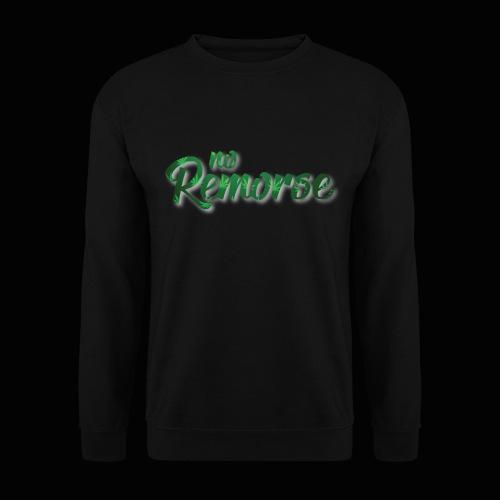 No Remorse Title With Weed No Background - Men's Sweatshirt