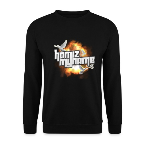ham shirt logo 2 png - Men's Sweatshirt