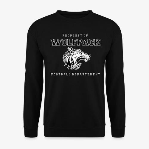 Wolfpack Wolfskopf Props - Männer Pullover