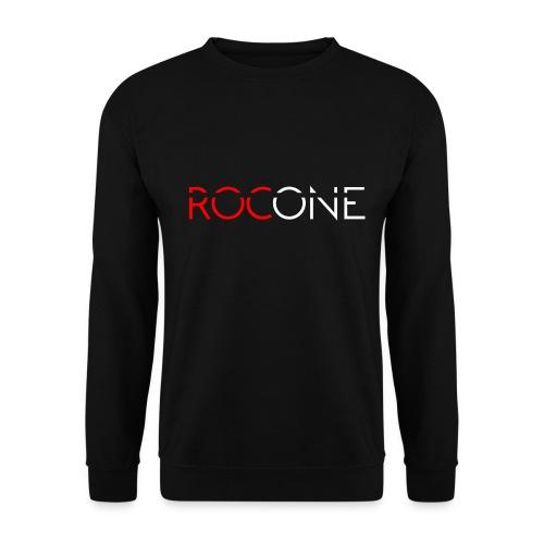 rocone logo weiss - Männer Pullover