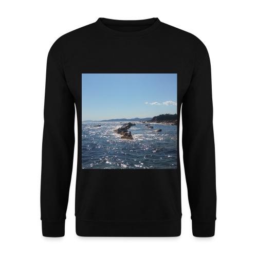 Mer avec roches - Sweat-shirt Homme