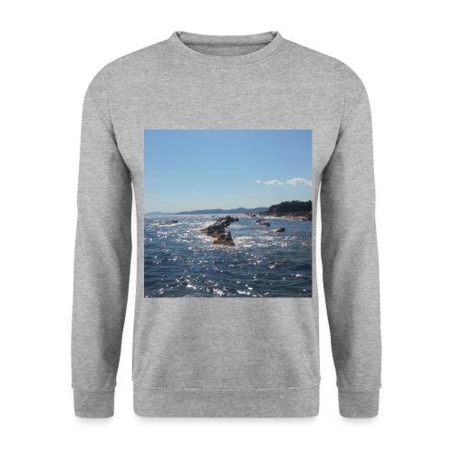 Mer avec roches - Sweat-shirt Unisex