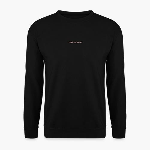 LogoAlexStudiosWhite - Unisex Pullover