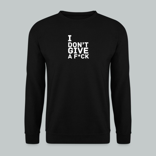 idgaf png - Sweat-shirt Homme
