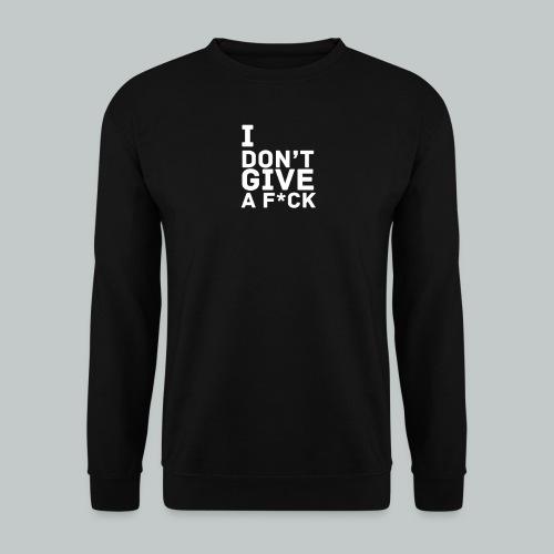 idgaf png - Sweat-shirt Unisexe