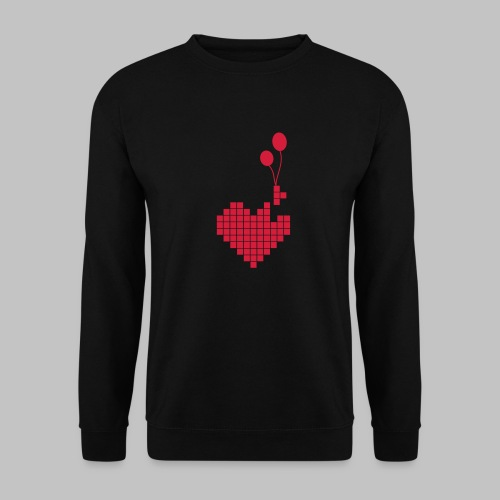 heart and balloons - Unisex Sweatshirt