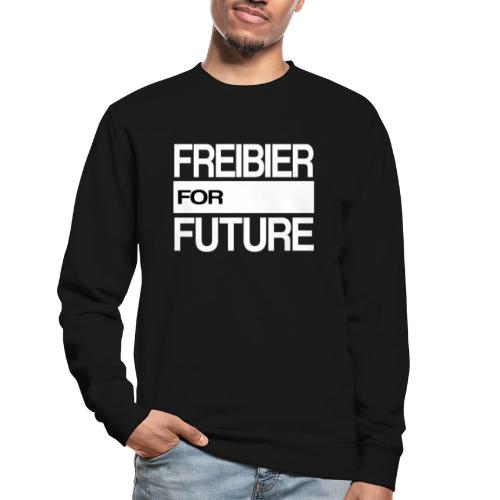 Freibier for future Fridays For Future - Unisex Pullover