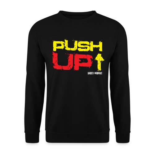 push up3 png - Unisex Pullover