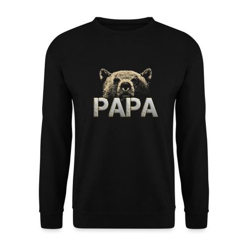 Papa Bär - Papa - Bär - Stolzer Papa - Männer Pullover