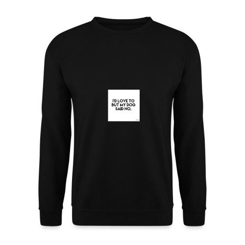 Big Boss said no - Men's Sweatshirt