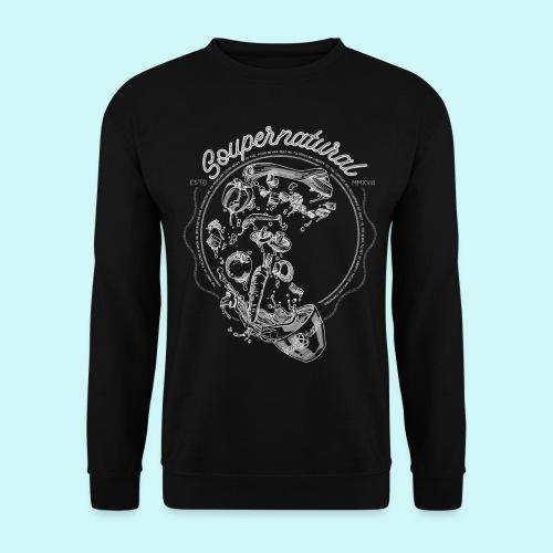 Soupernatural black - Männer Pullover