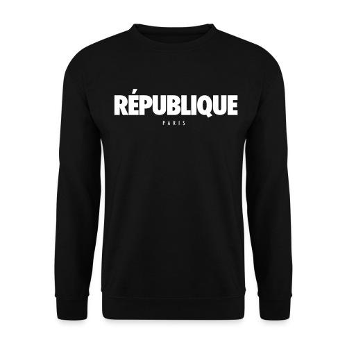 REPUBLIQUE Paris - Sweat-shirt Homme