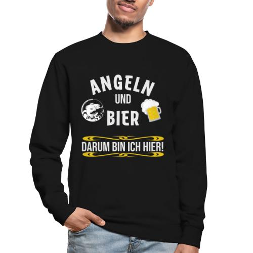 Angler angeln Sportfischer Fischer Angelhobbie Fun - Unisex Pullover