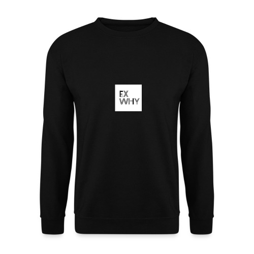 EX WHY logo - Unisex Sweatshirt