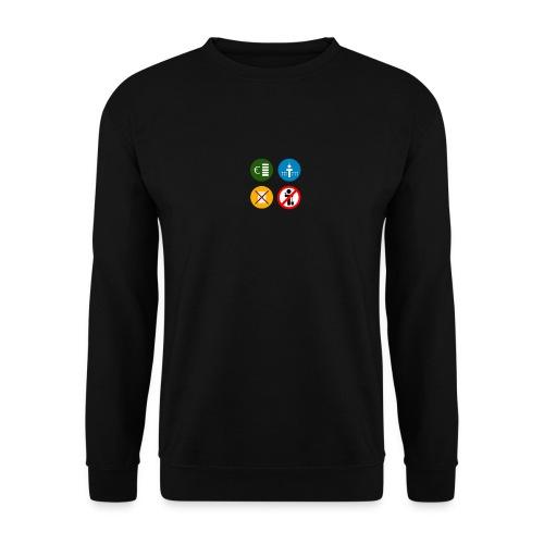 4kriteria ubi vierkant trans - Unisex sweater