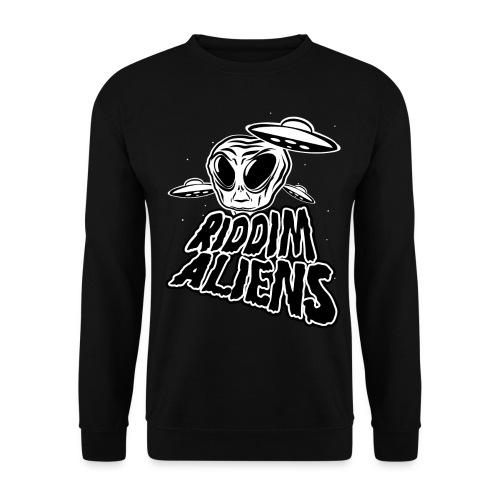 Riddim Aliens (Black Design) - Unisex Sweatshirt