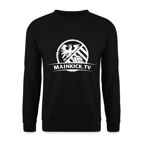 Mainkick_Weiss_3200x2400 - Unisex Pullover