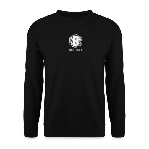 B brilliant grey - Unisex sweater