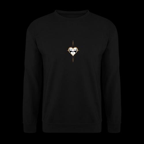 Coeur sombre et lumineux - Sweat-shirt Unisex