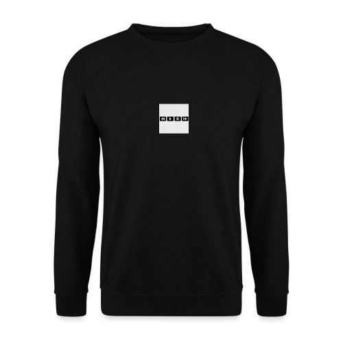 black-rewind-play-pause-forward-t-shirts_design - Unisex sweater