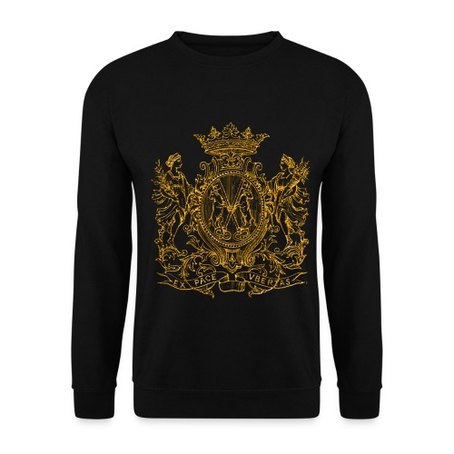 Peace and prosperity coat of arms - Sudadera unisex