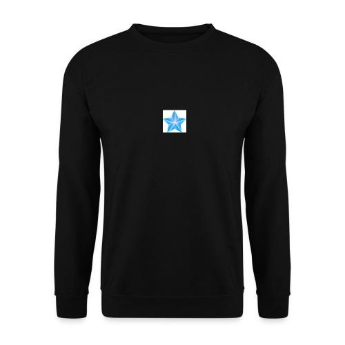 blue themed christmas star 0515 1012 0322 4634 SMU - Men's Sweatshirt
