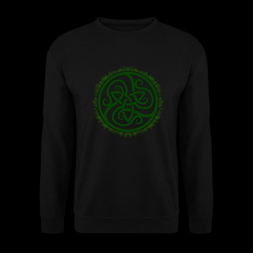 Green Celtic Triknot - Unisex Sweatshirt