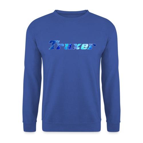 Truxer Name with Sick Blue - Unisex Sweatshirt
