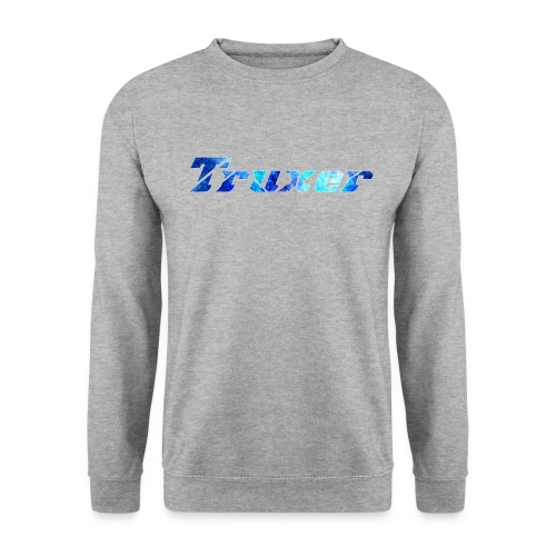 Truxer Name with Sick Blue - Unisex Sweatshirt