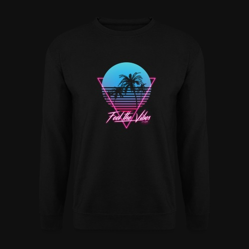 Feel the Vibes - Felpa unisex